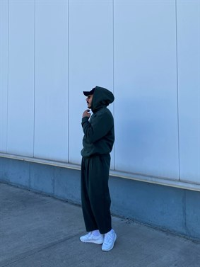 A.Design Basic Oversize Hoodie