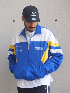 Champion USA Vintage Oldschool Bomber Jacket